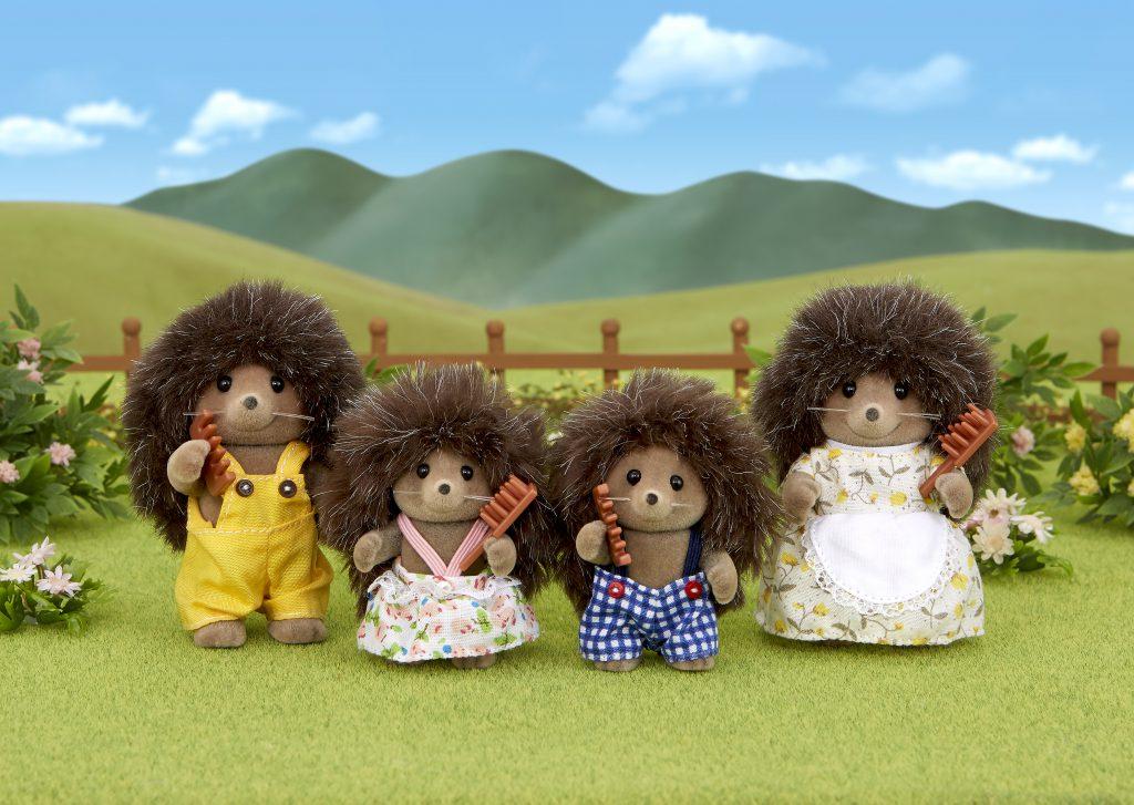 Spielzeug: Sylvanian families - hedgehog family